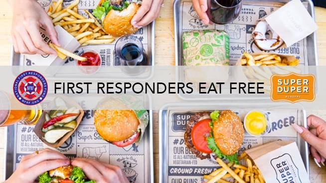 Third Wednesdays: First Responders Eat Free At Super Duper