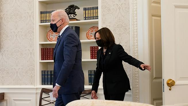 Biden signs $1.9T relief bill before speech to nation