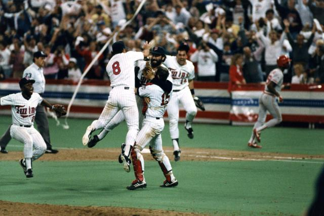 "'87 Minnesota Twins World Series Highlights Set to Bonnie Tyler's ""I Need a Hero"""