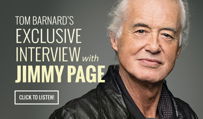 LISTEN: The Exclusive Jimmy Page Interview