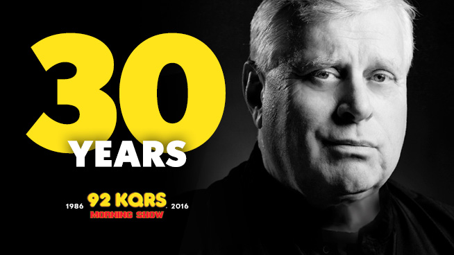 Tom Celebrates 30 Years on The KQ Morning Show