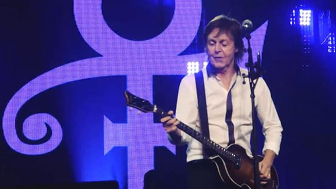 Paul Pays Tribute to Prince