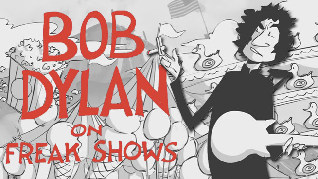 Animated Bob Dylan Interview