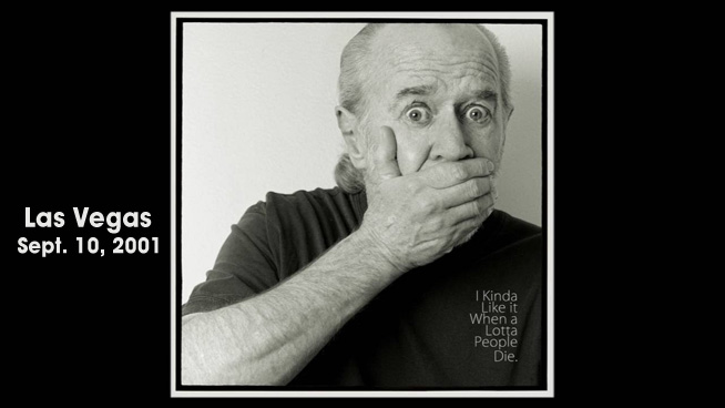 """George Carlin's """"High Death Toll"""" Bit, Recorded Day Before 9/11, Has Been Released"""