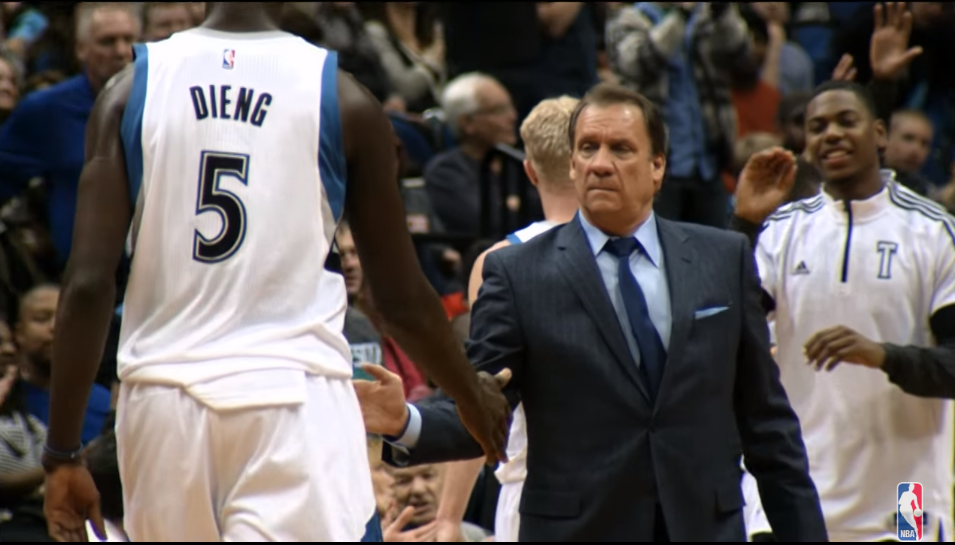 "SCHREIER: Gorgui Dieng on Flip Saunders' Death — ""It Took Me Two Months to Get Back to Normal"""