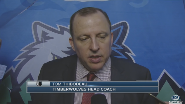 SCHREIER: Tom Thibodeau Has Been Blunt About His Young Timberwolves