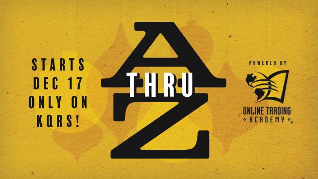 KQ's Holiday A Thru Z Coming December 17!