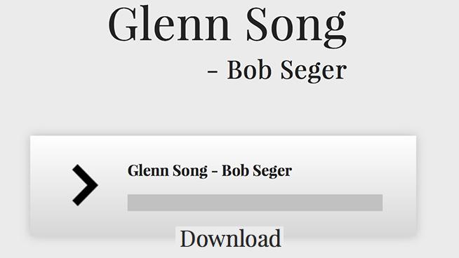 Bob Seger Releases Free Song In Tribute to Glenn Frey
