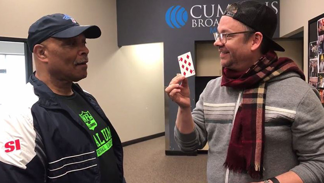Derek Hughes Card Trick