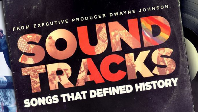 "Trailer for CNN's ""Soundtracks: Songs That Defined History"""