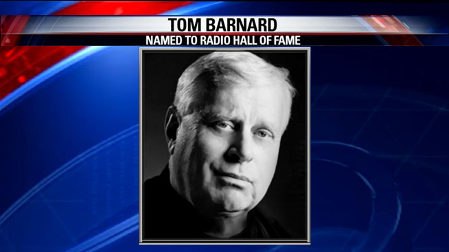 Tom Barnard Named to Radio Hall of Fame