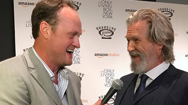 """Jeff Bridges at the NYC Premiere of """"The Only Living Boy In New York"""""""