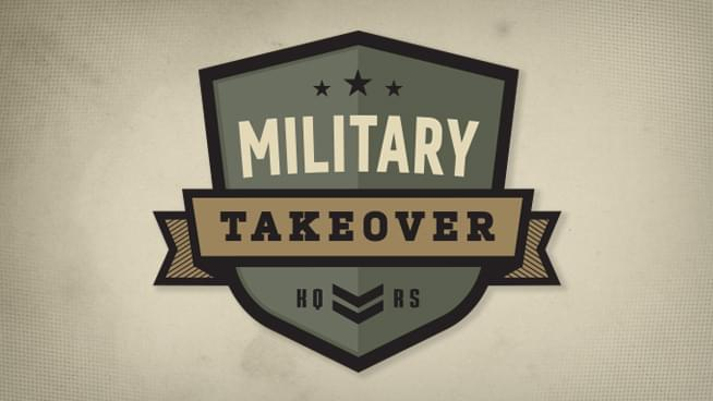 2017 Veterans Day Military Takeover