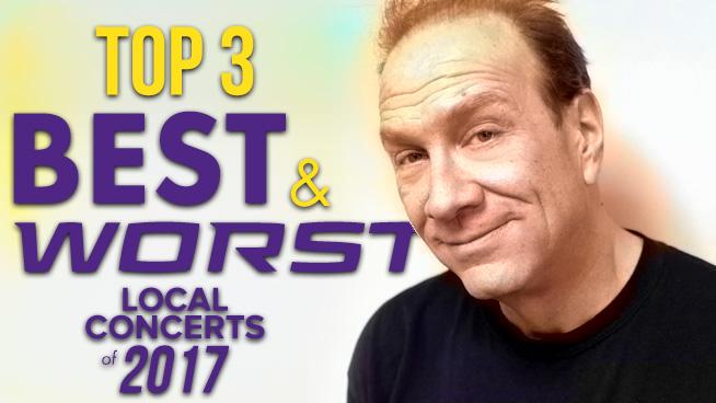 Top 3 Best & Worst Local Concerts of 2017