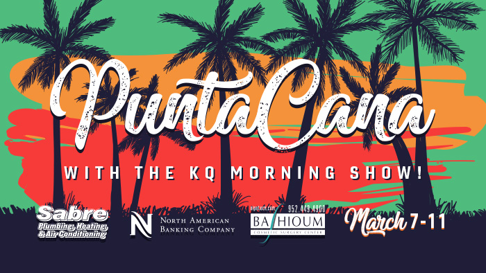 See photos from the 3rd annual KQ Morning Show listener trip to Punta Cana! - Presented by North American Banking Company