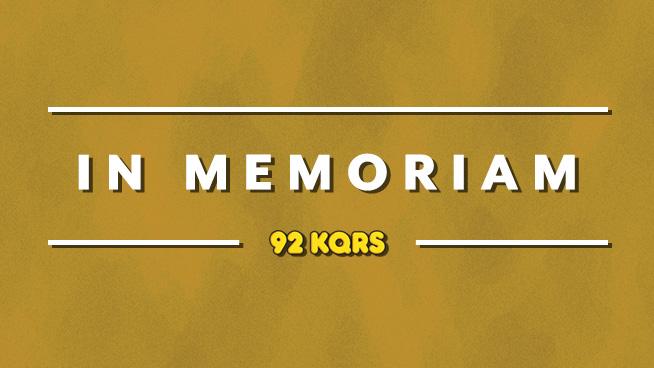 2019: In Memoriam