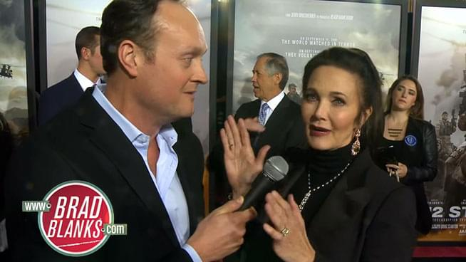 Brad Blanks Chats Up the Original Wonder Woman, Lynda Carter