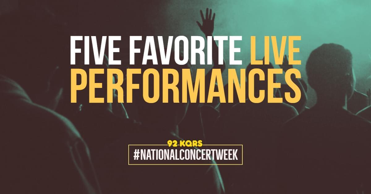 KQ's Five Favorite Live Performances