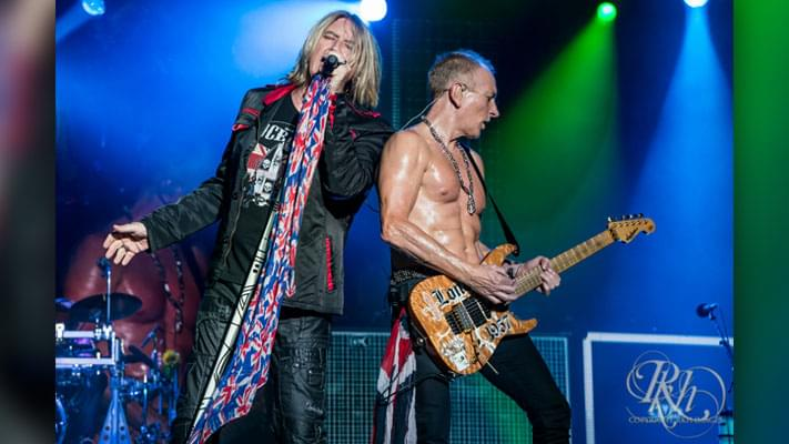 Listen to Joe Elliot's Interview with The KQ Morning Show