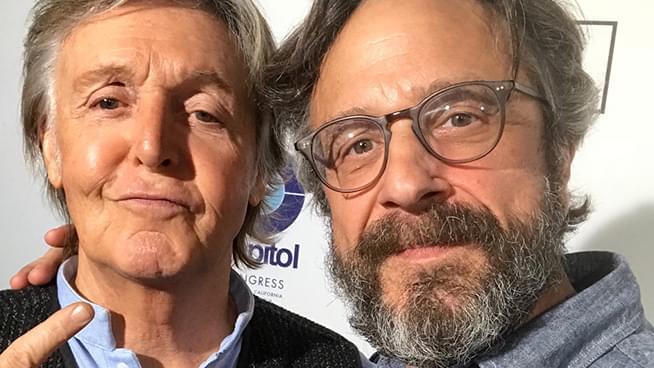 Paul McCartney Appears on Marc Maron's WTF Podcast