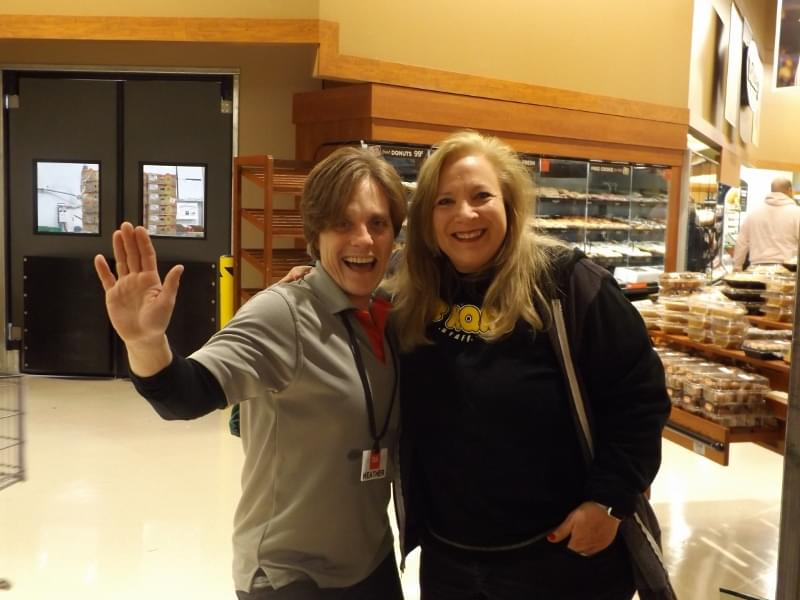 Lisa Miller at Cub Foods with Second Harvest Heartland