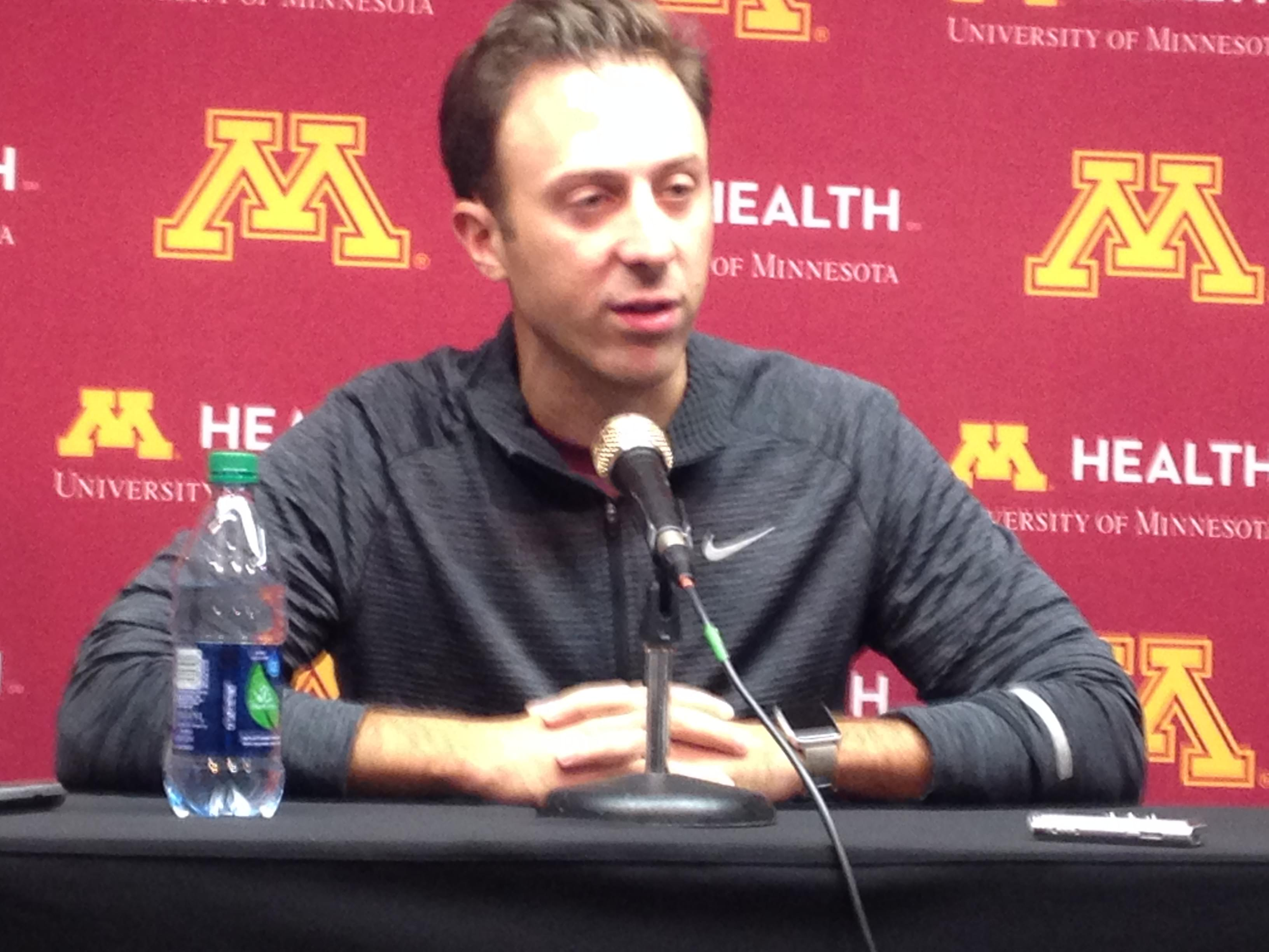 """VIDEO: Richard Pitino """"Disappointed"""" in NCAA's Decision to Deny Marcus Carr's Eligibility Waiver"""