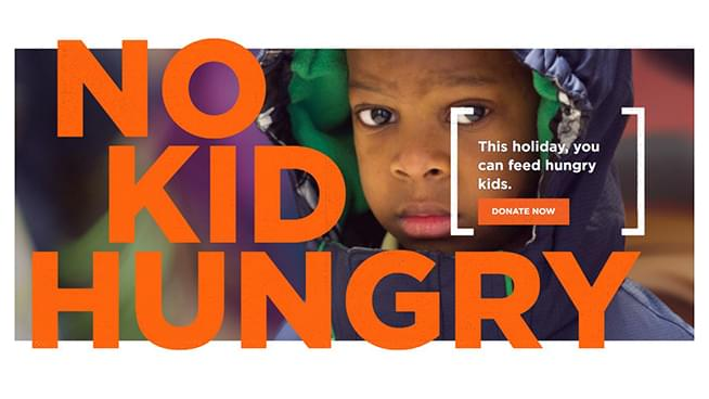 Donate to Second Harvest Heartland & No Kid Hungry!
