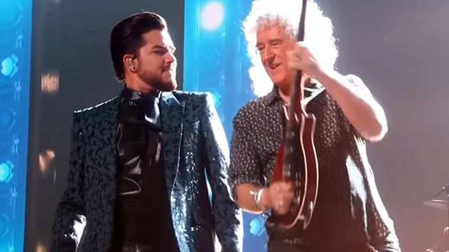 Queen + Adam Lambert Kick Off the Oscars