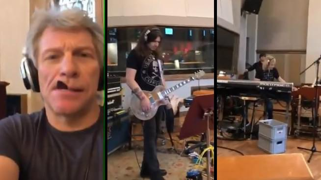 Recording for New Bon Jovi Album Has Begun
