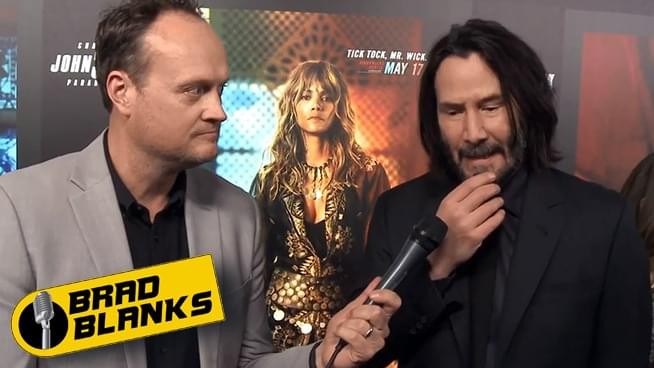 Brad Blanks with Keanu Reeves, Halle Berry, more from John  Wick 3 Premiere