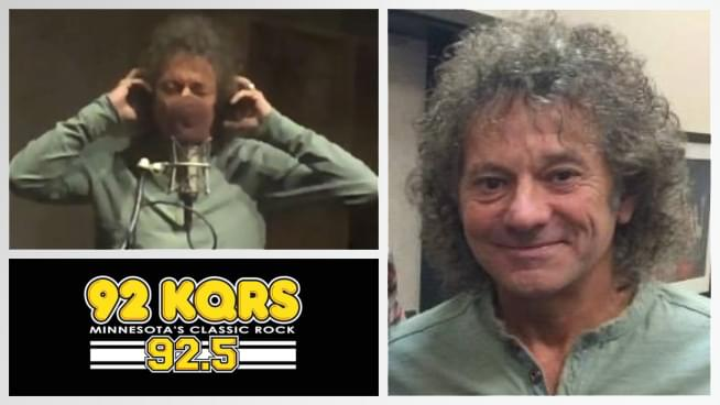 Mickey Thomas performs Fooled Around and Fell In Love on the KQ Morning Show