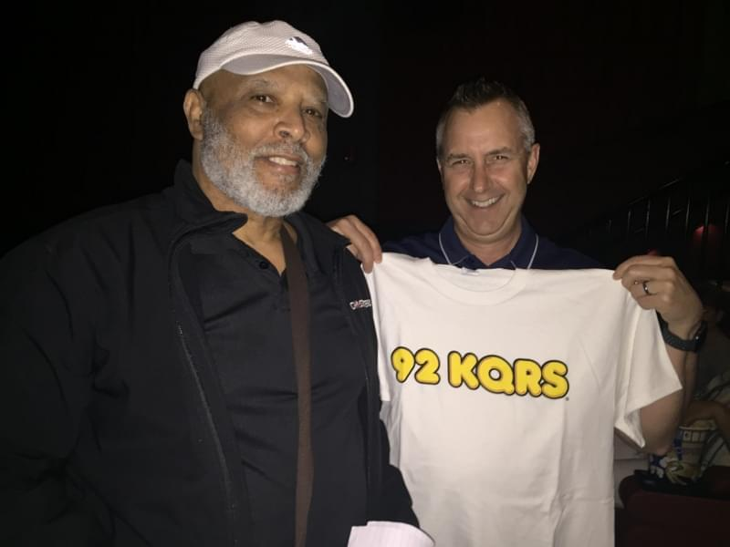 KQRS at Marcus Southbridge Crossing Cinema for a ROCKETMAN Movie Screening