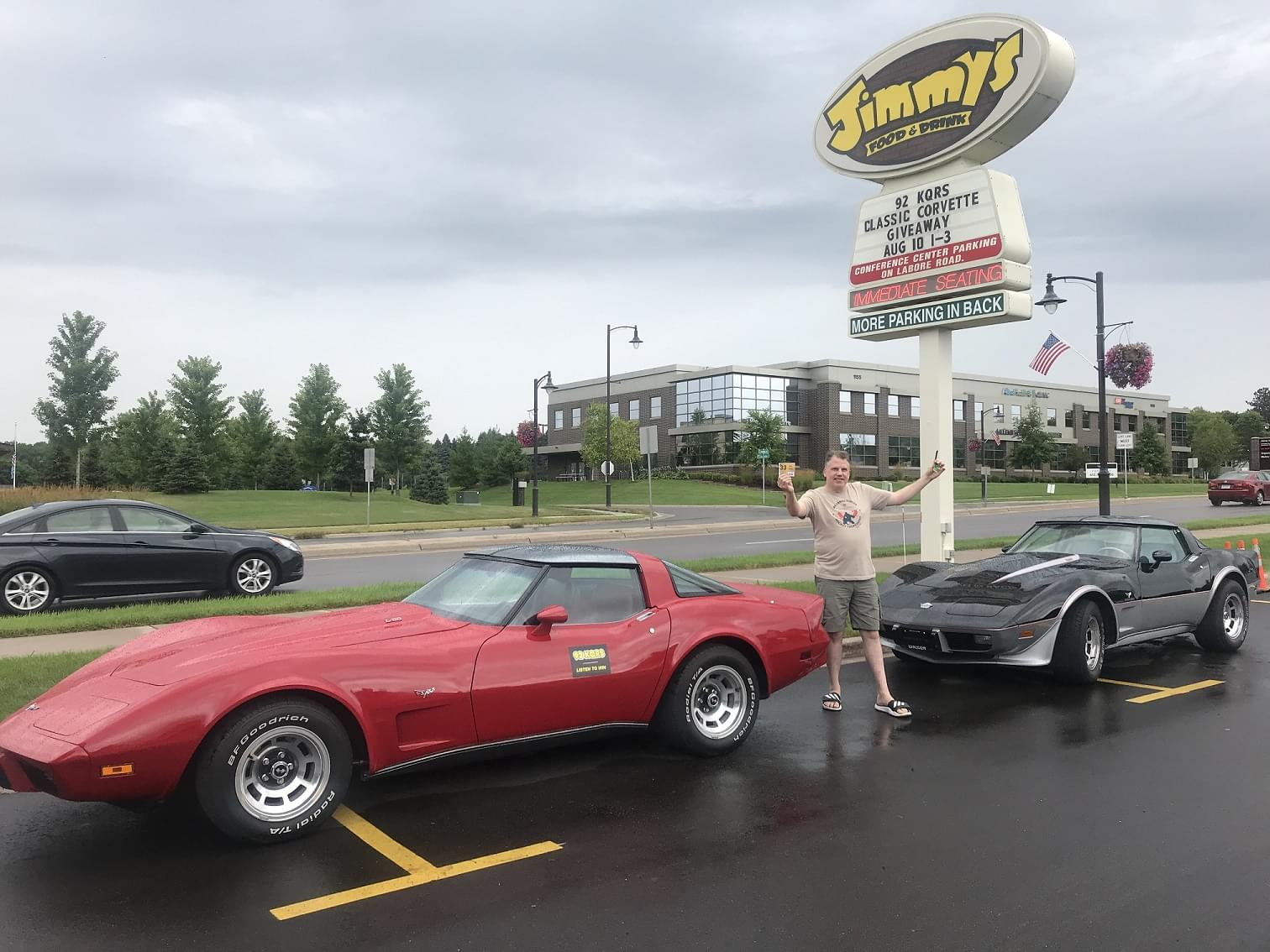 PHOTOS & VIDEOS: Win One, Give One Classic Corvette Giveaway Finale Event