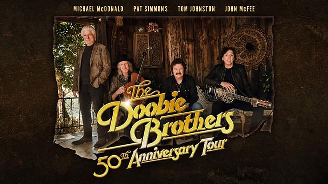 AUG 28 • The Doobie Brothers: 50th Anniversary Tour