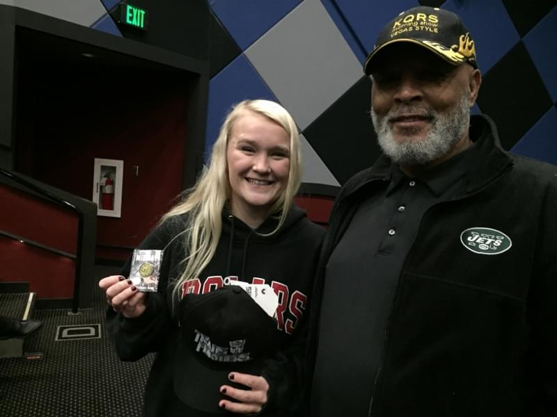 KQRS at Marcus Oakdale Cinema for a screening of MIDWAY