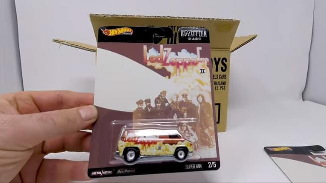 Hot Wheels Reveals Led Zeppelin Line-Up