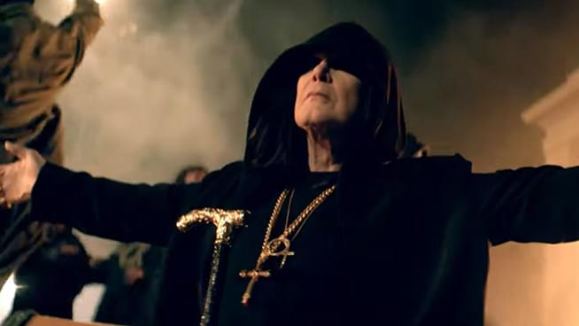 Ozzy Osbourne Releases Straight to Hell Video