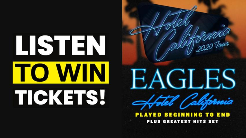 Listen to Win Eagles Tickets!