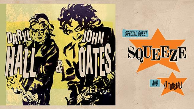 JUL 16 • Daryl Hall & John Oates