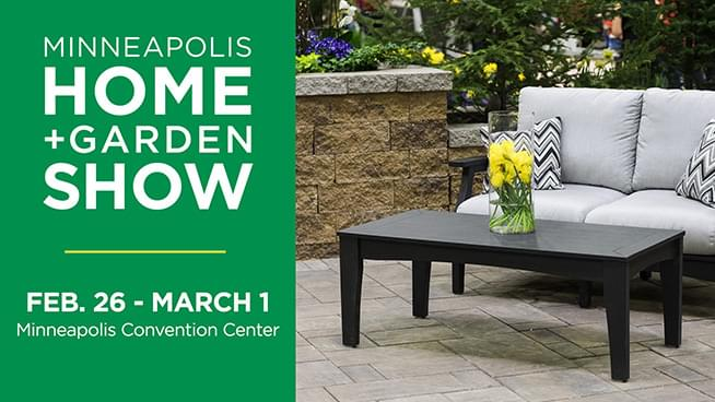 FEB 26 – MAR 1 • Minneapolis Home + Garden Show
