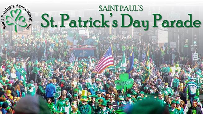 MAR 17 • KQ at St. Paul's 54th Annual St. Patrick's Day Parade