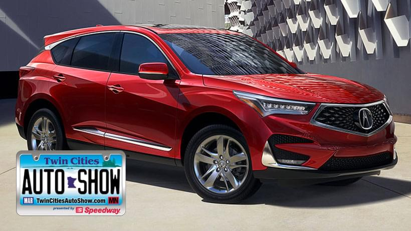 Register to WIN the Acura RDX at the Twin Cities Auto Show