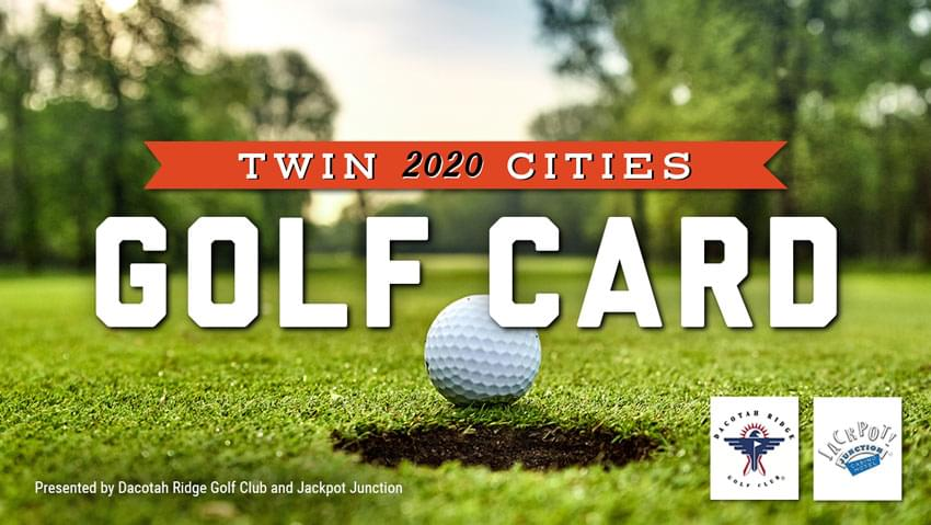 2020 Twin Cities Golf Card #2: On Sale Now!