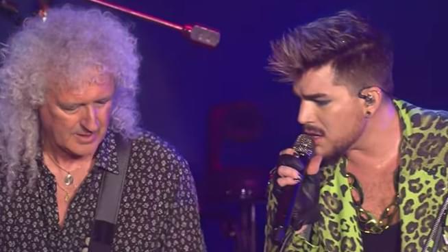 Queen + Adam Lambert Reenact Queen's Iconic Live Aid Performance