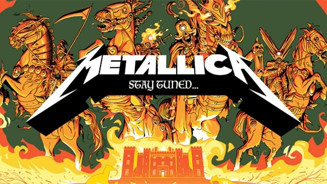 Metallica Launch #MetallicaMondays Concert Stream Series
