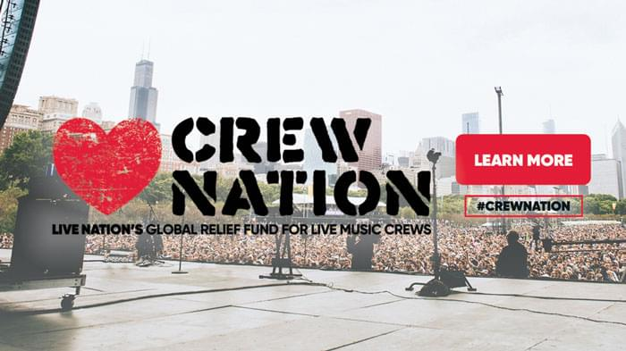 Crew Nation: Global Relief Fund for Live Music Crews