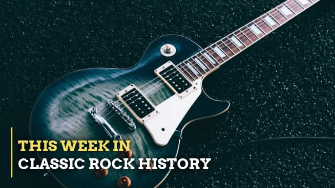 This Week In Classic Rock History (JAN 10-16)