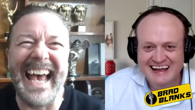 Brad Blanks' Epic Chat with Ricky Gervais