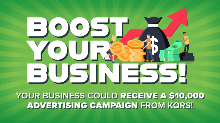 Your Business Could Win a $10,000 Advertising Campaign from KQRS!