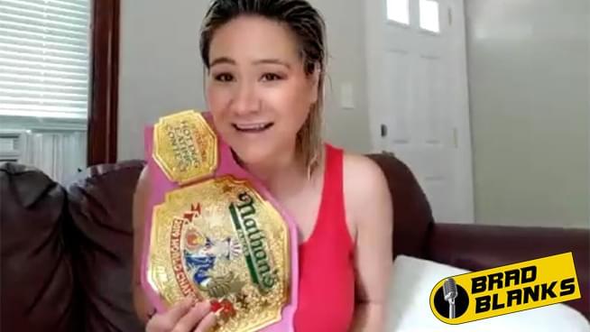 World Hot Dog Eating Champion Miki Sudo